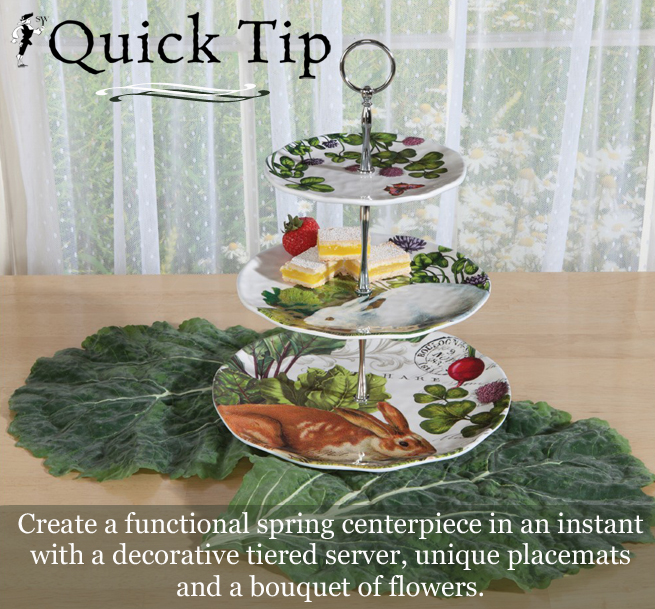 Quick Tip: Quick & Simple Spring Centerpiece