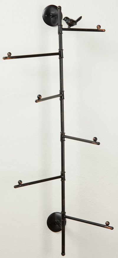 Sitting Bird Wall Rack