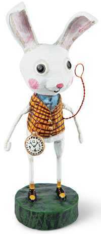 White Rabbit Wonderland Collectible