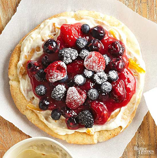 Berry Breakfast Pizza - Better Homes & Gardens