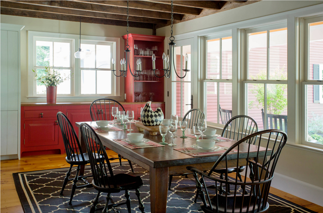 Photo by Cummings Architects – Browse farmhouse dining room ideas