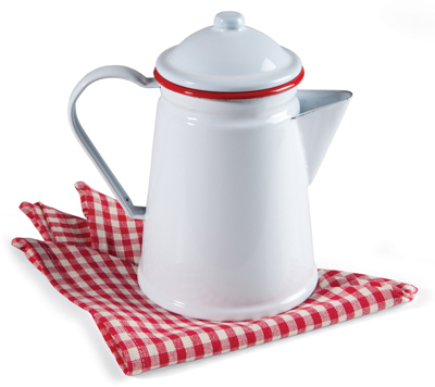 Enamelware Coffee Percolator