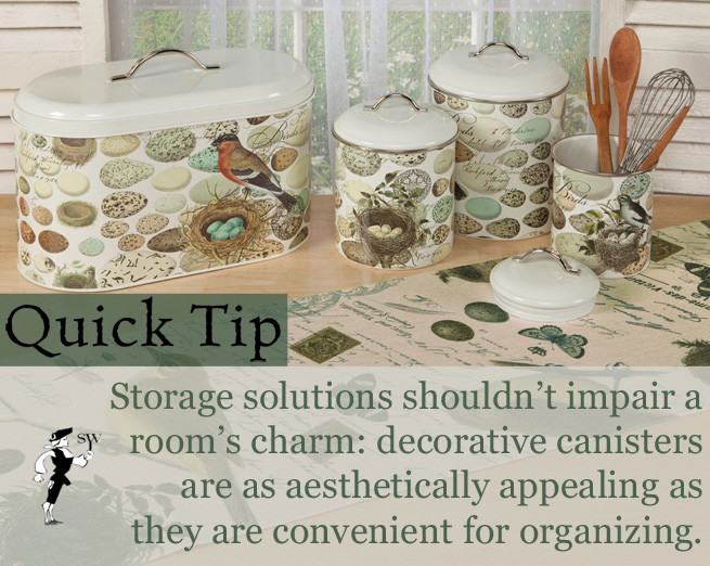 Quick Tip: Stylish Storage Solutions