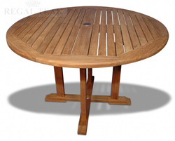 "48"" Teak Dining Table"
