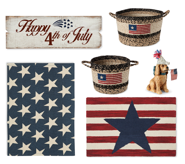 Independence Day Must Have Home Accents