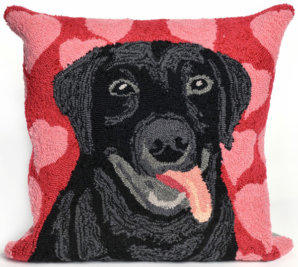 Puppy Love Indoor/Outdoor Pillow