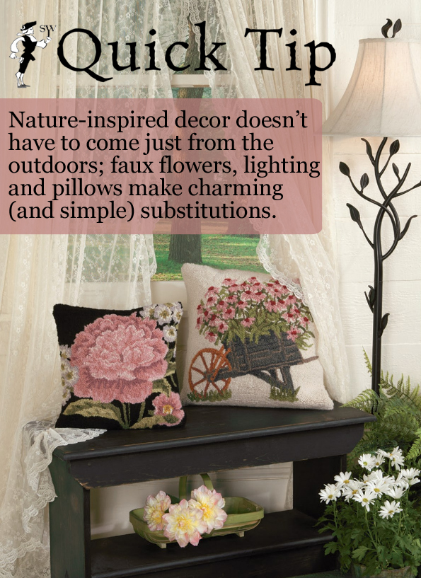 Quick Tip: Nature-Inspired Decor and Home Accents