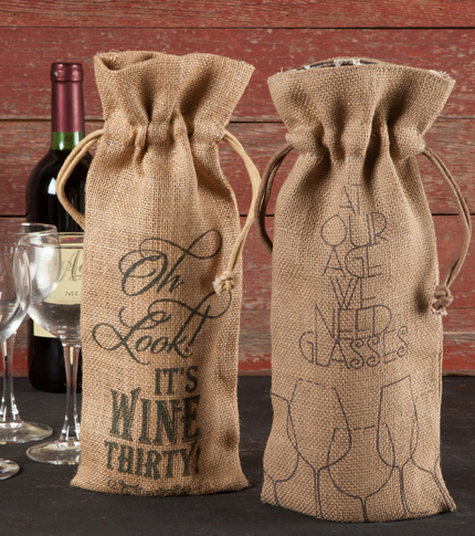 Wine Bottle Sack