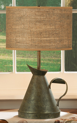 Watering Can Table Lamp | Annual Fall Lighting Sale | Sturbridge Yankee Workshop