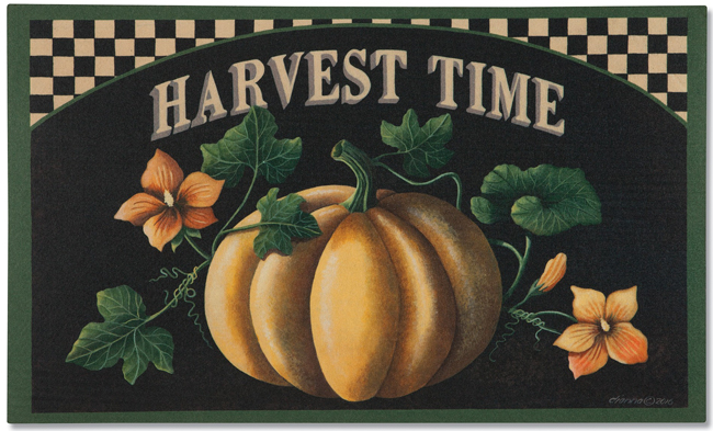 Harvest Time Doormat | Dianna Swartz | Made in the USA