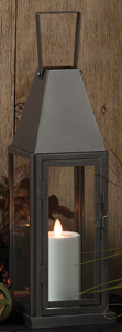 Vintage Tin Lantern Accent Light