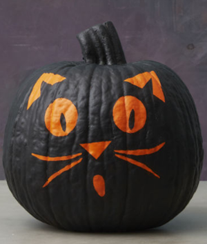 Black Cat Pumpkin | Good Housekeeping
