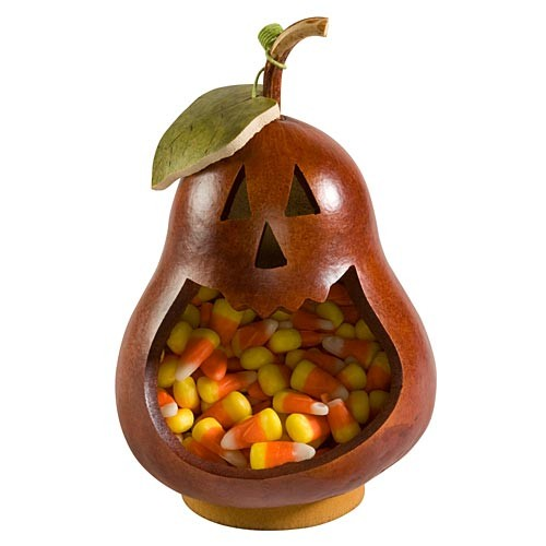 Li'l Pumpkin Gourd Candy Dish | Meadowbrook Gourds | Sturbridge Yankee Workshop