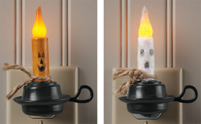 Primitive Halloween Night Lights