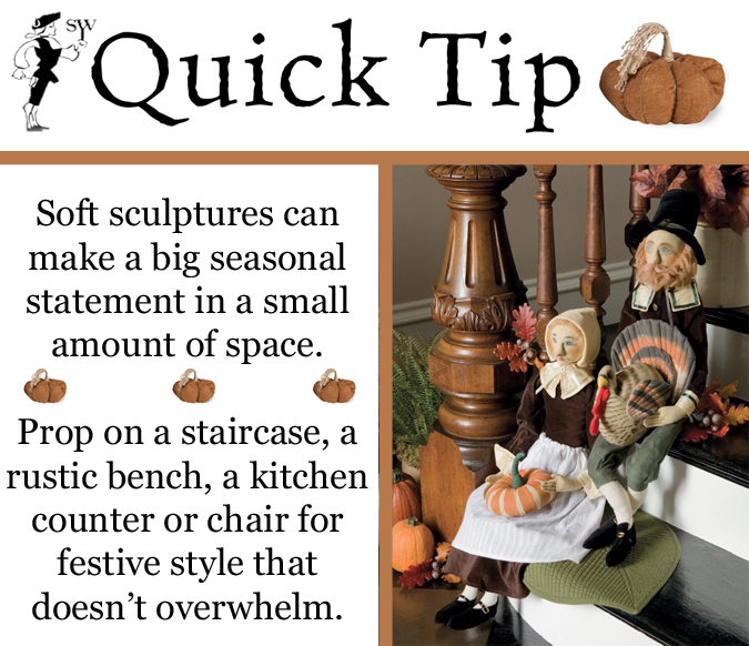 Quick Tip: Seasonal Soft Sculptures