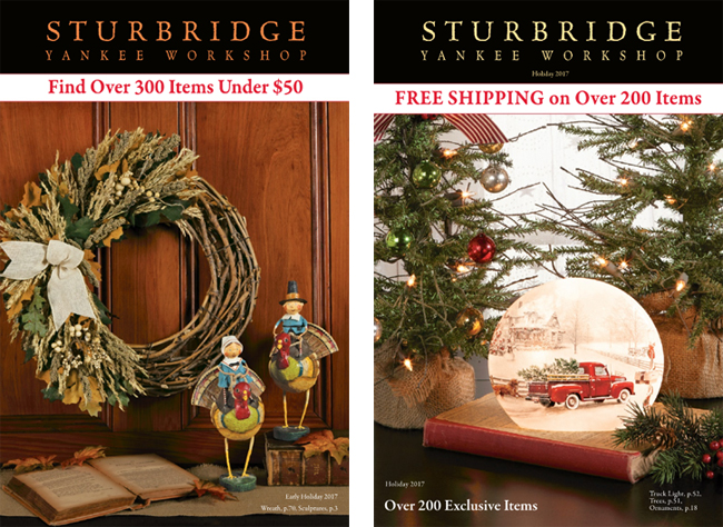 Holiday 2017 Catalog I & II | Sturbridge Yankee Workshop