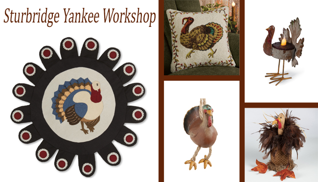 Monday Must-Haves: Thanksgiving Turkeys | Sturbridge Yankee Workshop