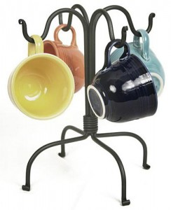 Four Hook Mug Rack