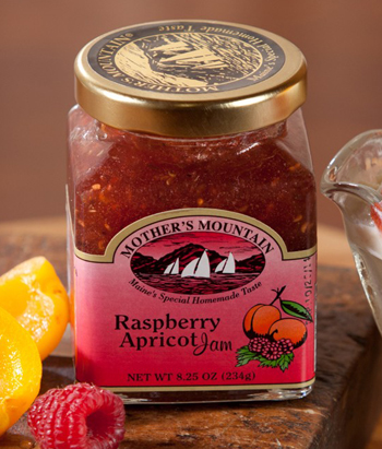 Raspberry Apricot Jam | Made in Maine | Sturbridge Yankee Workshop