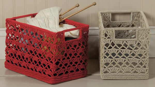 Crochet Wire Basket