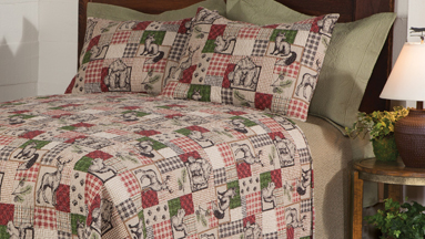 Woodland Animal Quilt Set | Winter 2018 | Sturbridge Yankee Workshop