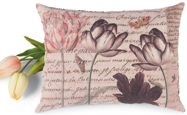 Dutch Tulips Mini Pillow | Sturbridge Yankee Workshop
