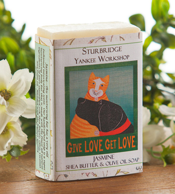 Jasmine Bar Soap | Made in the USA | Artist Stephen Huneck | Sturbridge Yankee Workshop