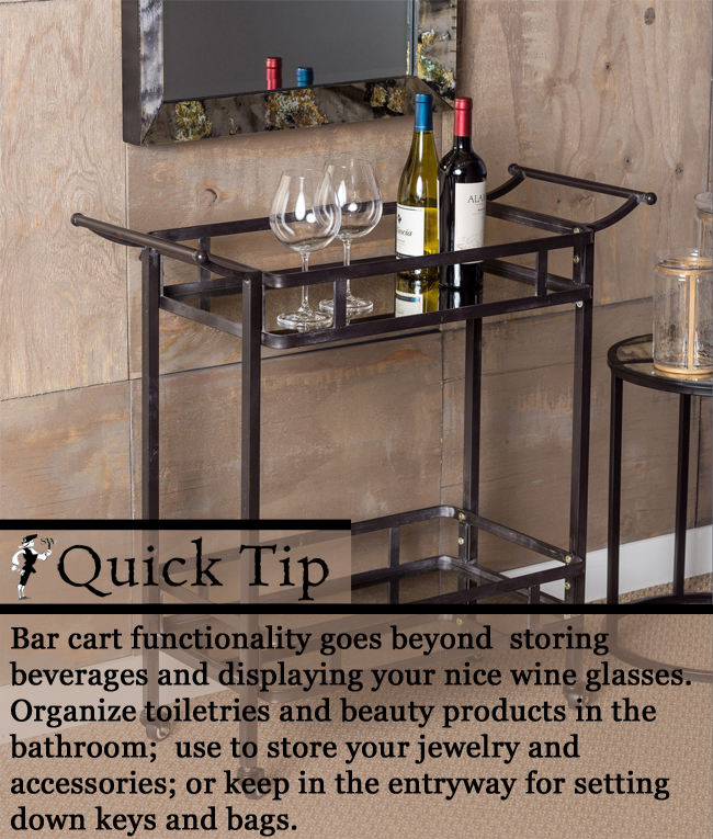 Quick Tip: Limitless Bar Cart | Sturbridge Yankee Workshop