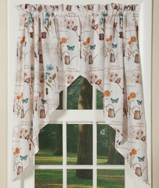 Signs Of Spring Curtain Collection | Curtains | Sturbridge Yankee Workshop
