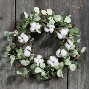 Cotton Wreath | Spring 2018 | Sturbridge Yankee Workshop
