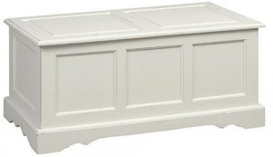 Paneled Storage Chest