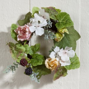 Rose Hydrangea Wreath | Spring 2018 | Sturbridge Yankee Workshop