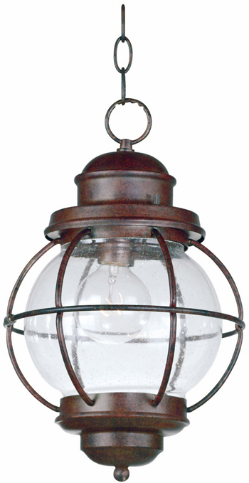 Seeded Glass Hanging Lantern | Sturbridge Yankee Workshop