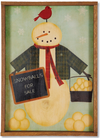 Snowballs For Sale Print | Sturbridge Yankee Workshop
