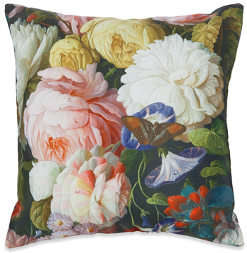 Victorian Flowers Toss Pillow | Sturbridge Yankee Workshop