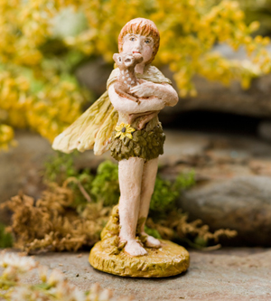 Best Friends Miniature Garden Fairy | Sturbridge Yankee Workshop