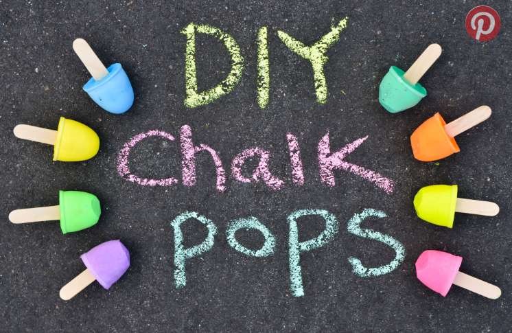 Sidewalk Chalk Pops | Project Nursery + Junior | Spring DIY