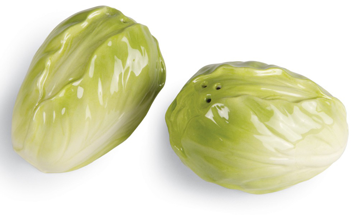 Lettuce Salt & Pepper Shakers | Sturbridge Yankee Workshop
