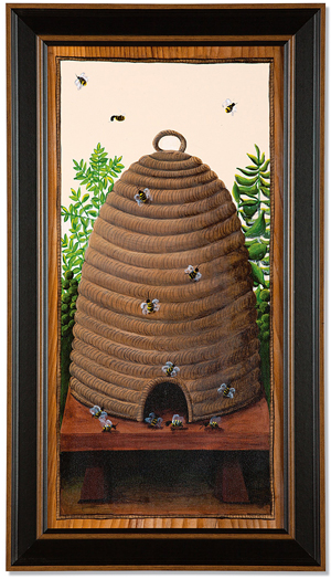 Bee Skep Print | Tim Campbell | Sturbridge Yankee Workshop