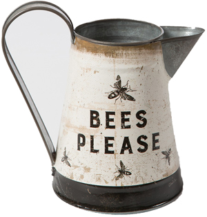 Metal Bees Pitcher | Sturbridge Yankee Workshop