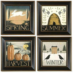 Season Prints | Artist Dianna Swartz | Sturbridge Yankee Workshop
