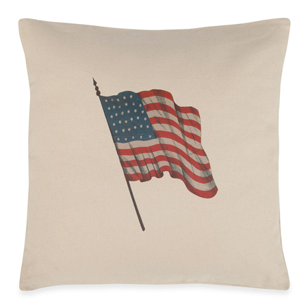 Star Spangled Flag Pillow | Made in the USA | Sturbridge Yankee Workshop