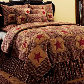 Vintage Star Queen Quilt | Sturbridge Yankee Workshop