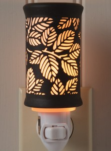 Porcelain Fern Night Light