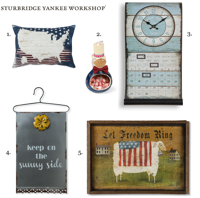 Weekly Spotlight: Summer Clearance Decor | 2018 | Sturbridge Yankee Workshop