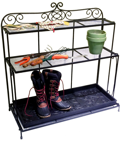 Gardener's Boot Utility Shelf