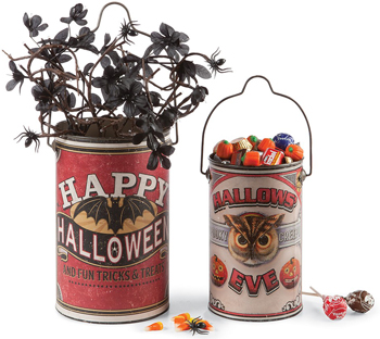 Happy Halloween Tins | Sturbridge Yankee Workshop