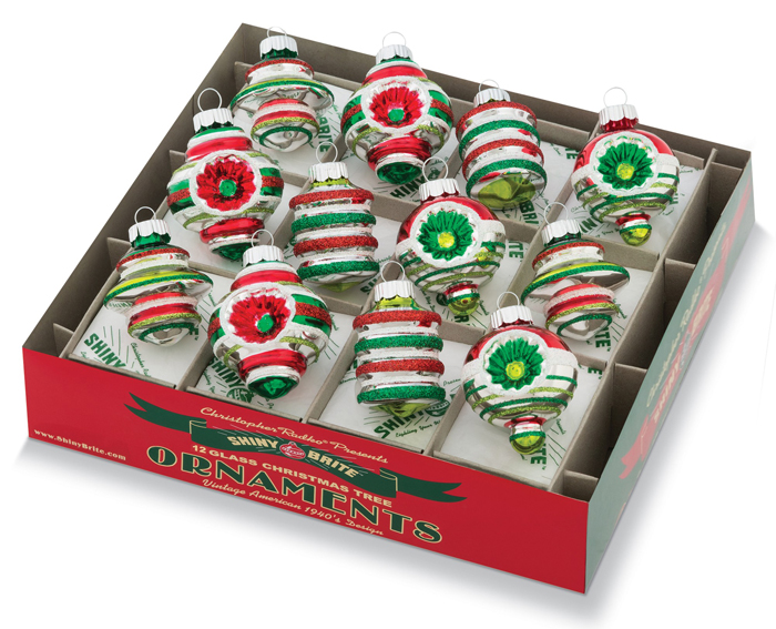 Holiday Splendor Shaped Ornaments | Shiny-Brite