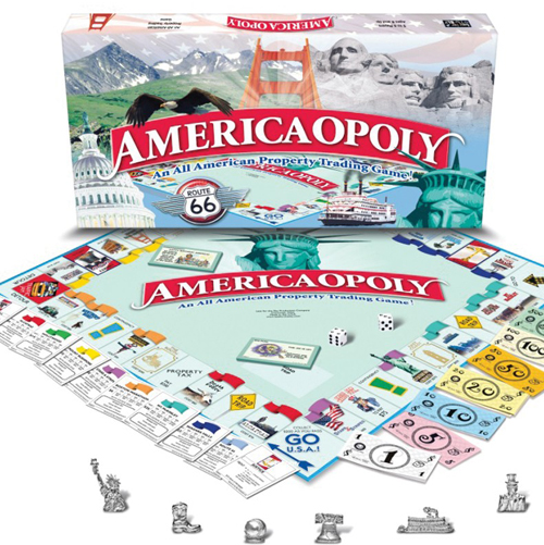 America-opoly Game | Made in USA | Sturbridge Yankee Workshop