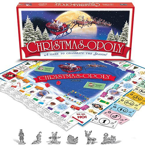 Christmas-opoly Game | Made in USA | Sturbridge Yankee Workshop